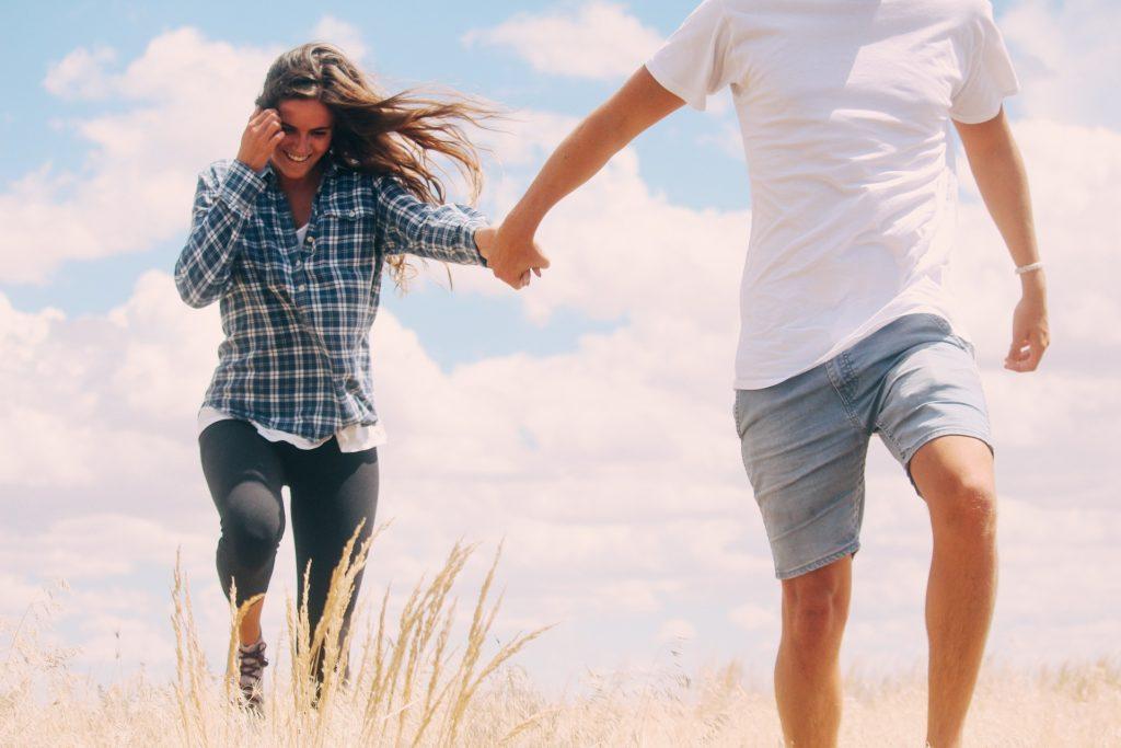 Wandelen met vriend of vriendin